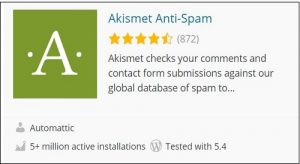 Akismet-anti-spam