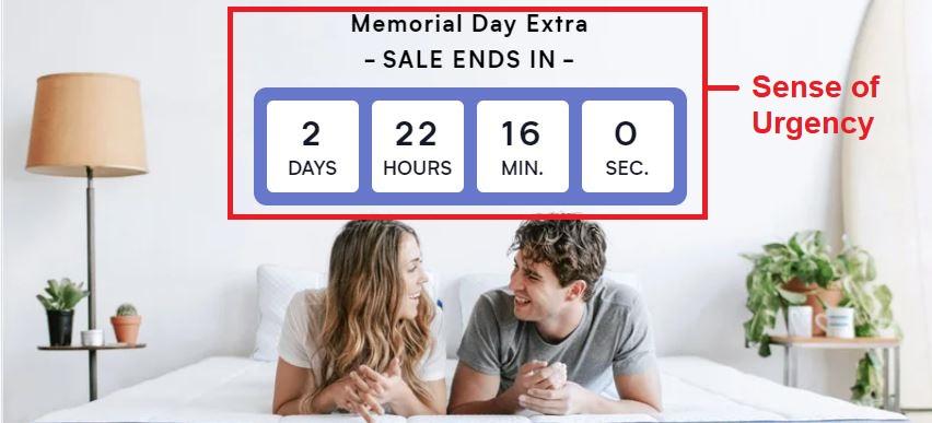 Sense of Urgency for Sales