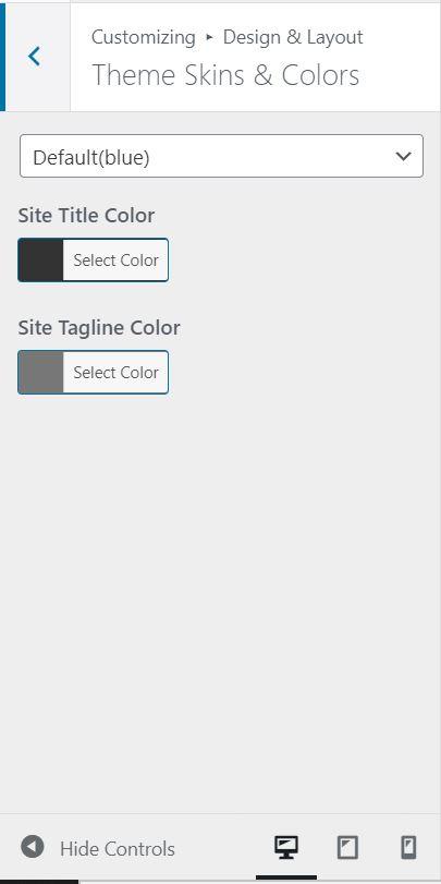 change color of a website