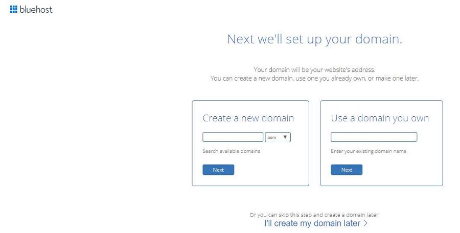 create domain name