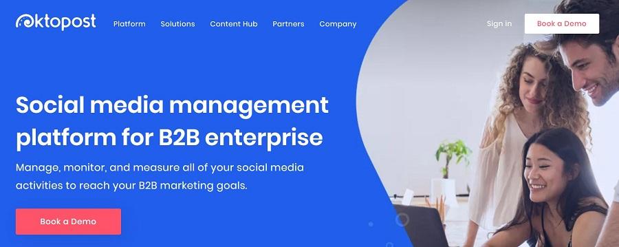 B2B Social Media Management Platform