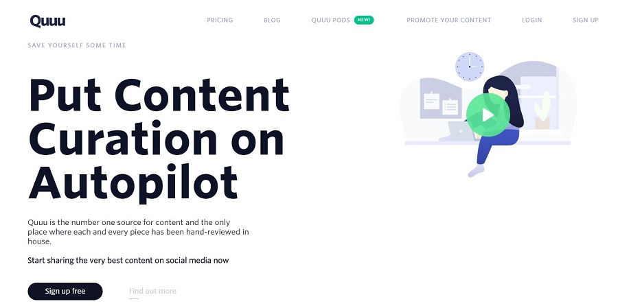 social media tool for content curation