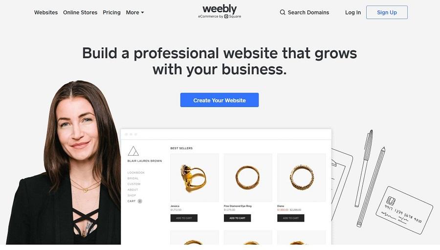 Weebly website builders