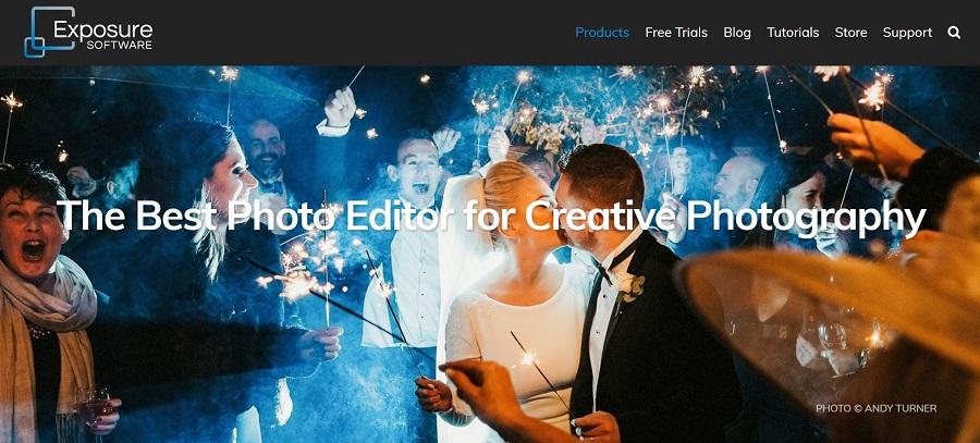 Photo editing application
