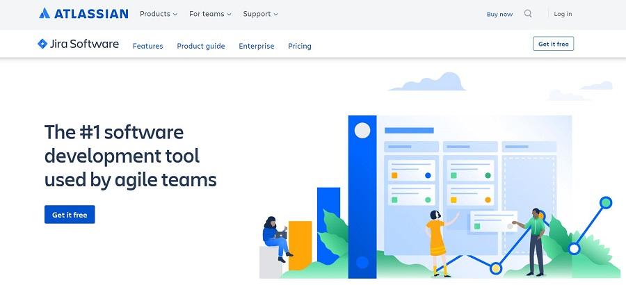 Atlassian JIRA project management software