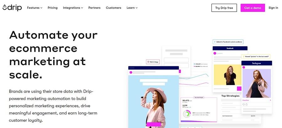 Drip eCommerce marketing