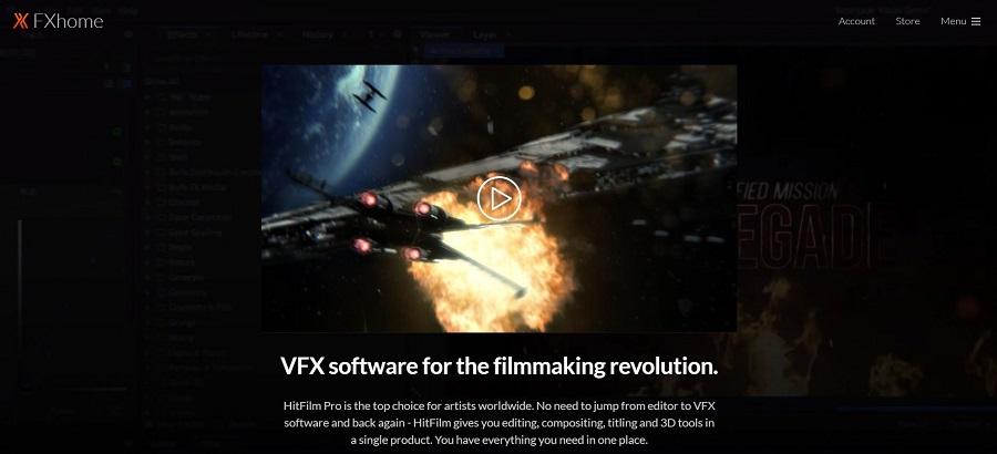 HitFilm Pro video editing tool