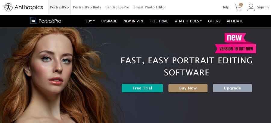 PortraitPro - Portrait Editing Software